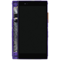 10pcs Mobile Phone Replacement Screen For Sony Xperia Z Ultra XL39h LCD With Frame Black C6802