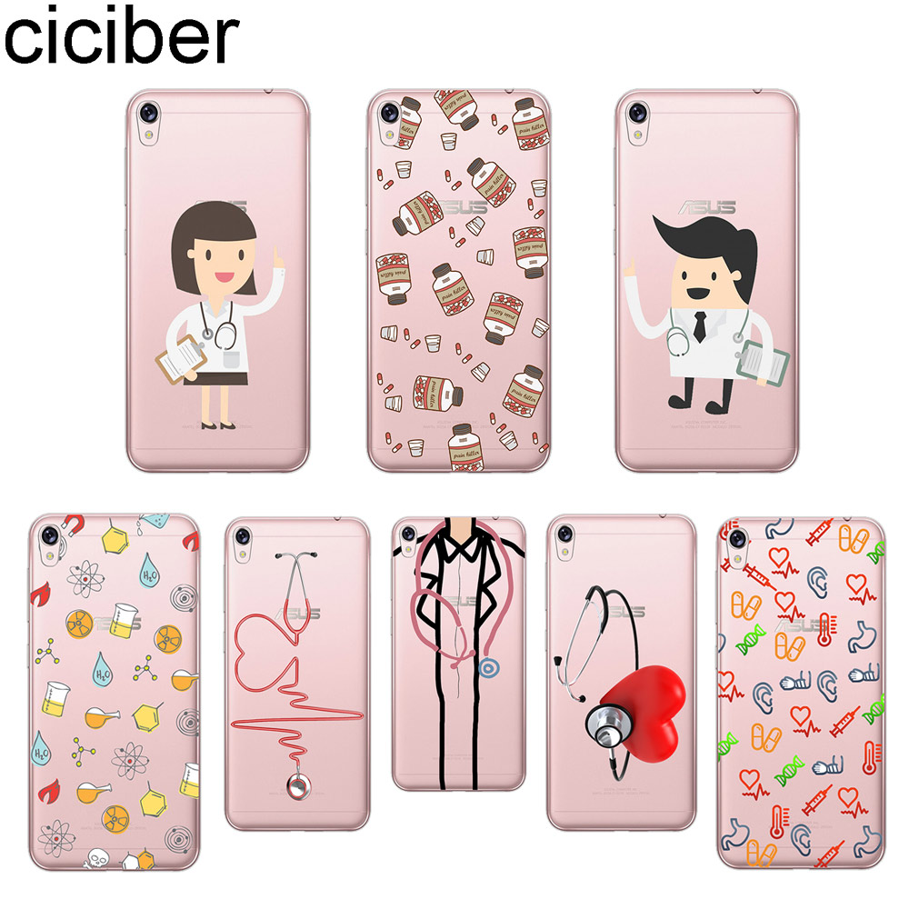 Cellphones & Telecommunications Symbol Of The Brand Ciciber Cartoon Doctor Phone Case For Asus Zenfone 3 Max Zc520tl Cover For Zenfone Live 3 Go Zb501kl Zb500kl Soft Tpu Coque Love