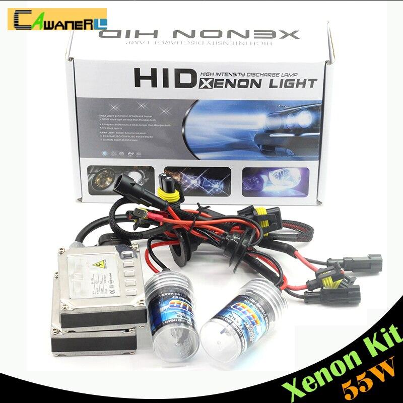 Cawanerl 55w H8 H9 H11 Xenon Kit Hid Bulb Ballast Car