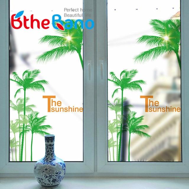 60*116 Cm PVC Privatsphäre Selbstklebende Frosted Window Film Wasserdicht  Dekorative Glas Aufkleber Haus Zimmer