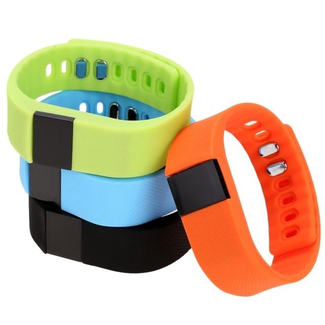 2016 Sports Fitness Sleep Monitor Tracker Smartband Pedometer Wristband Smart Bracelet Health Bluetooth For IOS Android Phone