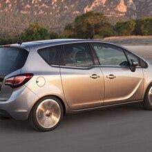 8 шт./лот, автомобильный Стайлинг, ксенон, белый Canbus, комплект, светодиодный, внутреннее освещение для Opel Meriva