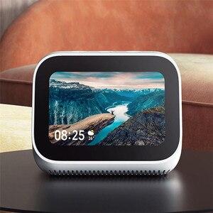 Image 2 - In Stock Xiaomi AI Touch Screen Bluetooth 5.0 Speaker Digital Display Alarm Clock WiFi Smart Connection Speaker Mi speaker