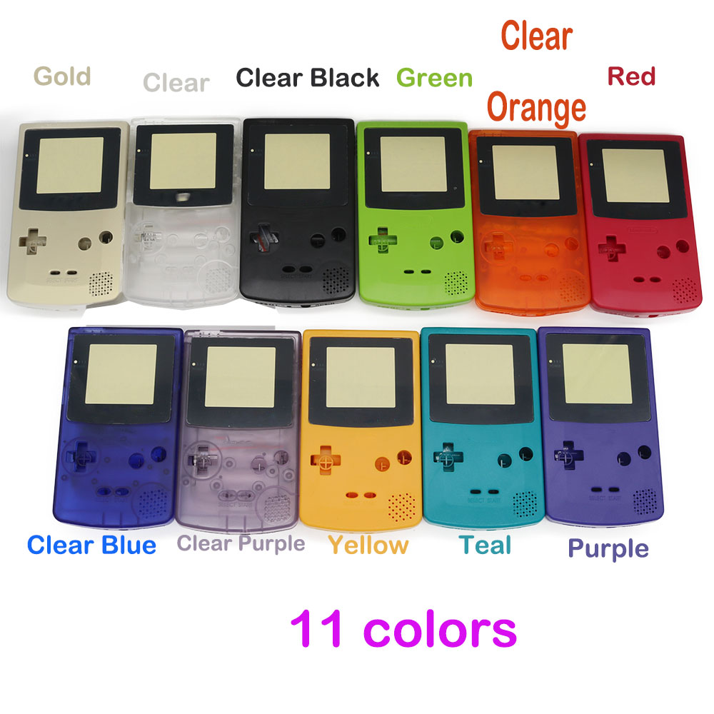 Game boy color online games - New Full Housing Shell Cover For Nintendo Game Boy Color Gbc Repair Part Housing Shell Pack