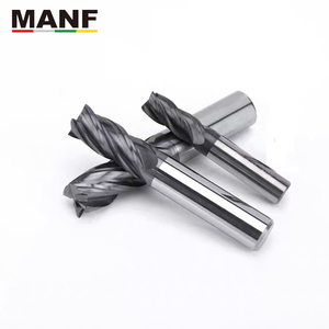 Image 5 - Cortadores de trituração hrc50 4mm 6mm 8mm 10mm carboneto sólido fresas de extremidade do carboneto de tungstênio cortador de moinho para fresar