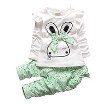 Fashion Girls Spring Casual Clothing Sets Children T-shirt Pants 2 Pcs/Sets Kids Cute Clothes 2019 Toddler Autumn Tracksuits комбинезон buono buono mp002xw0hszn