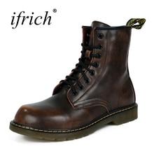 eather Warm Footwear High Top Boots