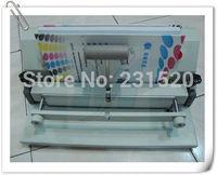 Sulco Pressionando Máquina Manual de Capa Dura 330 milímetros A4 Tamanho