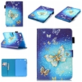 Funda For iPad Mini 2 Case Butterfly Flower Print PU Leather Case for Apple iPad Mini 1 2 3 4 Magnetic Smart Tablet Cover
