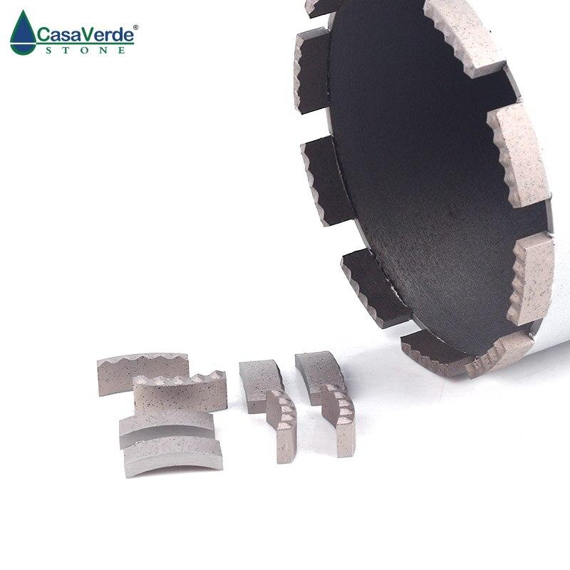 DC DSCB03 diamond core drill bit segments M type 24x4.5x10mm for wet drilling concrete drill bit