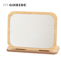High Definition Cosmetic Mirror Table Top Dressing Mirror Portable Fashion Simple Single Face Large Beauty Mirror