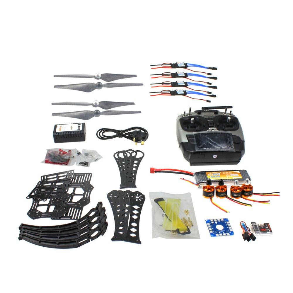 Bricolage RC Drone Quadrocopter ARF X4M360L cadre Kit QQ Super Radiolink AT9 F14892-H