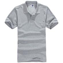 2017 summer time Short Sleeve polo shirts harajuku Cotton Men's Polo Shirt Men health Brand clothes tee Man Plus Size S-3XL tops