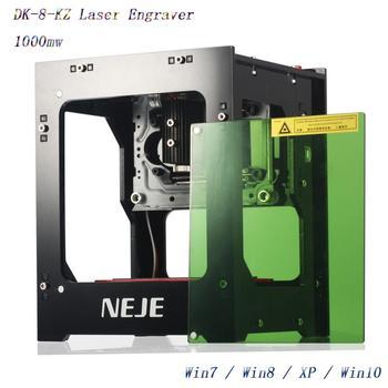 Neje 2019 뜨거운 판매 새로운 1000mw 405nm ai 레이저 조각사 나무 라우터 diy 데스크탑 레이저 커터 프린터 조각사 절단기