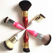 2016 Cute chubby foundation makeup brushes loose powder make up brush Professional Beauty essential tool maquiagem S516 S517