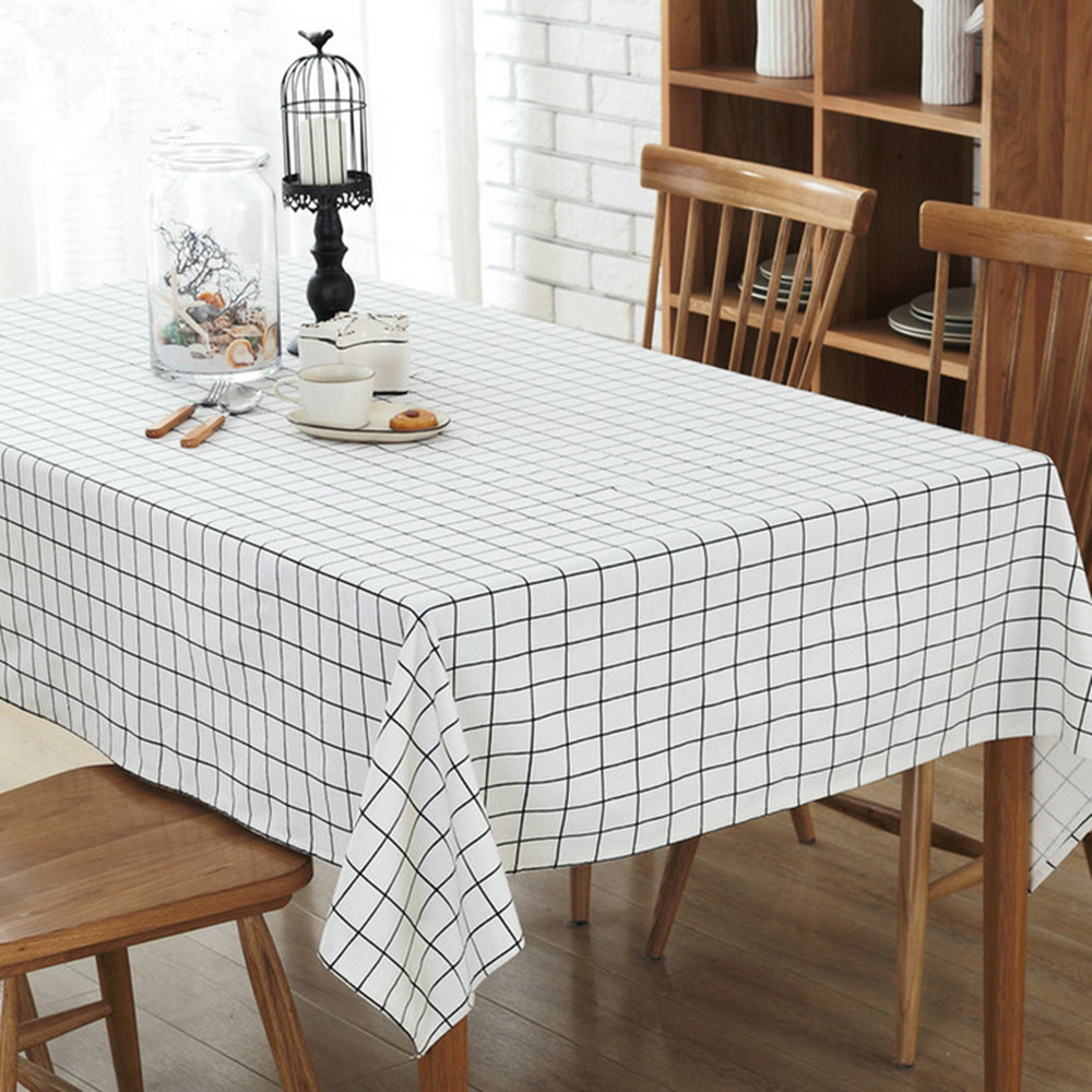 Coffee Table Linen Part - 37: European Simple Tablecloths Linen Tablecloths Dustproof Coffee Table Cloth  Rectangular Tablecloth Home Textile Products-in Tablecloths From Home U0026  Garden On ...