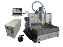 3axis cnc drilling machine 3020Z-VFD1.5KW USB with water tank include tax to Europe russia tax free mini cnc engraving drilling and milling machine 3axis with cheap price