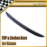 EPR Car Styling For Nissan Skyline R33 GTR GTS Carbon Fiber Bonnet Lip Fibre Hood Accessories