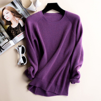 Menca Sheep Brand Sweaters Women 100 Cashmere Knitting Pullovers High Quality Fashion Oneck Knitwear Pure Cashmere