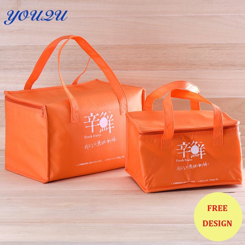 custom Non woven cooler bag,ice bag, Non woven Cooler Bag For Food ESCROW accept