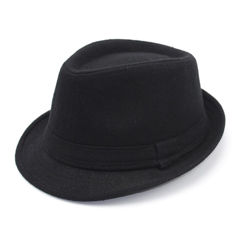 [AETRENDS] 2017 İngiltere Stil Fedora Caz Şapka Erkekler Vintage - Elbise aksesuarları - Fotoğraf 3