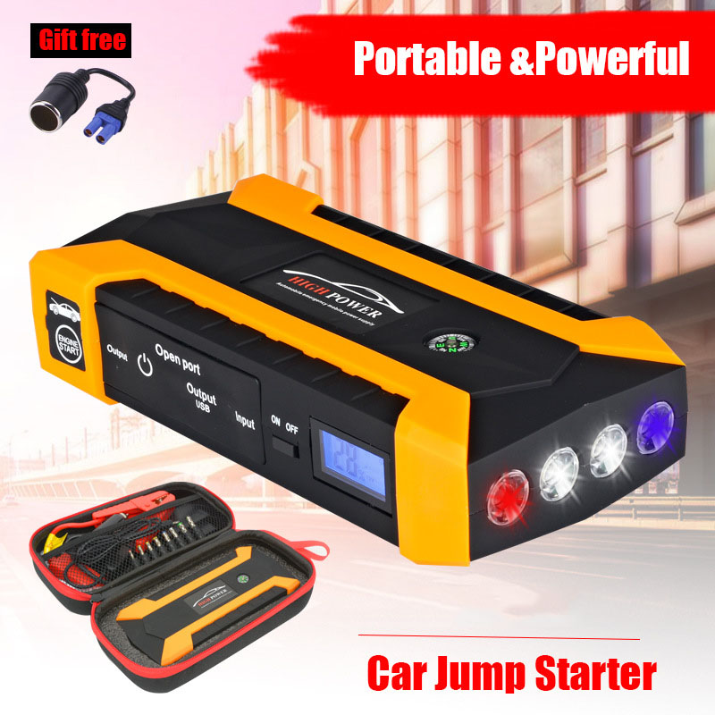 Car-Battery-Booster Charger Starting-Device 26000mah 600A Portable 12V Launch-The-Car title=