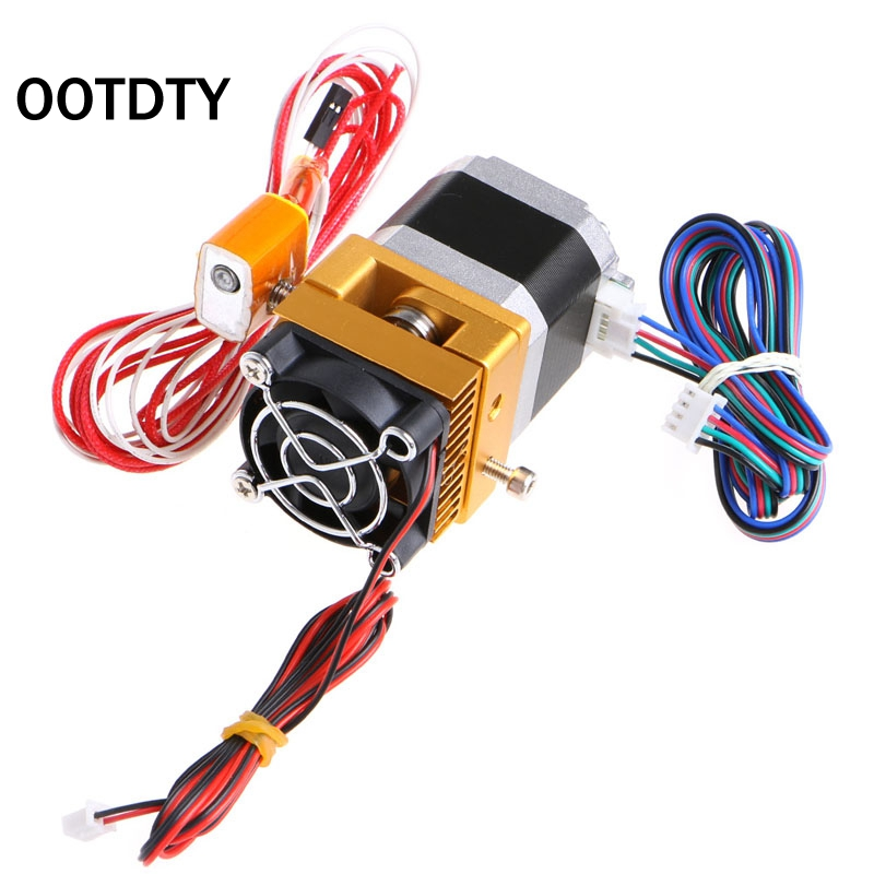 OOTDTY 3D Printer Parts Accessories Upgrade MK8 All Metal Suite Sprinkler Head Extruder Prusa i3 For 3D Printer Top Quality 3d printer head latest upgrade mk8 j