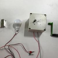 방 탈출 챔버 소품 모험가 소품 탈출 방 게임에 대한 수동 전기 발전기 소품 제어 조명 또는 잠금 장치