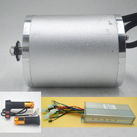 48V 60V 2000W Electric Motor ebike motor bldc with Brushless Controller Twist Throttle kit for electric bicycle/scooter/tricycle