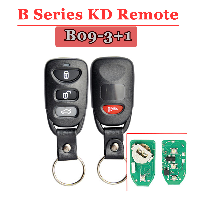 Free shipping (1 piece)B09 kd remote 4 Button B series Remote Key for URG200/KD900/KD200 machine free shipping 4 1 button full remote key shell for chrylser dodge jeep 10 piece lot