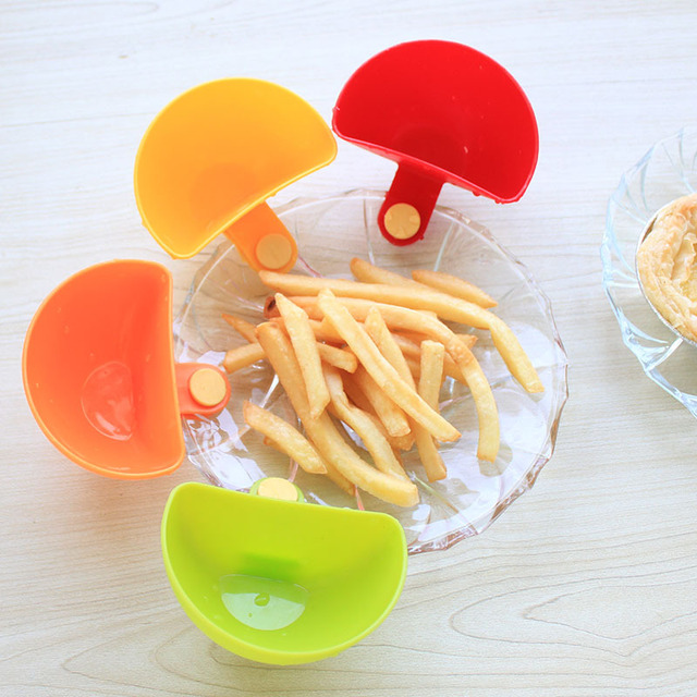 4 Pcs/set Multi-purpose Bright Color Mini Dip Clips
