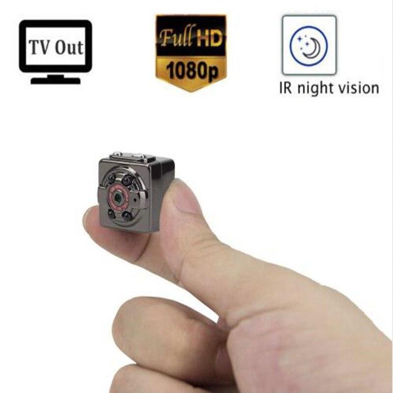 Full HD MINI Macchina Fotografica 1080 P 12MP Visione Notturna Registratore Nanny Micro Cam Motion Detection Digital Camcordor Al di Fuori Espia SQ8 Spied