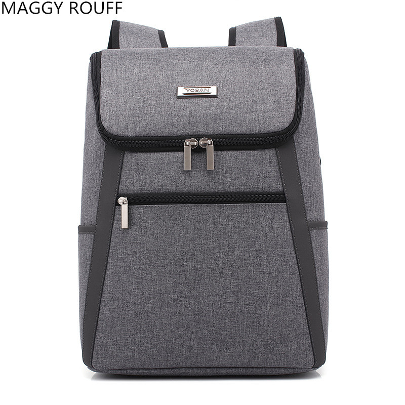 2018New Year Mens Backpacks 15 Inch Notebook Computer Backpack School Backpack Travel Me ...