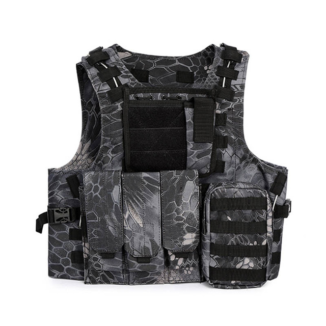 Quick Release Military Modular Molle CIRAS Tactical Vests Assault Vest Airsoft Combat Vests Includes Mag Pouch & Acessory Bag tikka t3 tactical 300 win mag