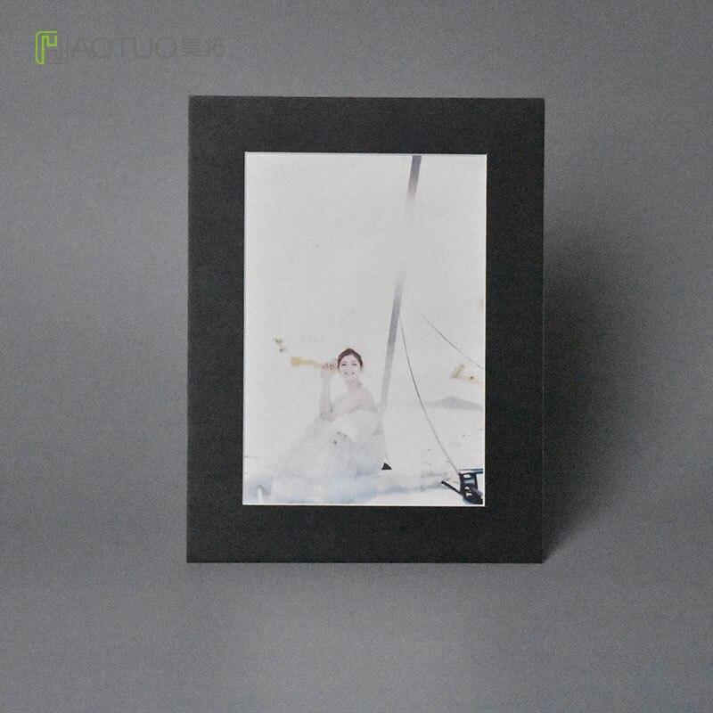 Photo Frame Acid Free Cardboard Photo Easel Mats 6 Inch
