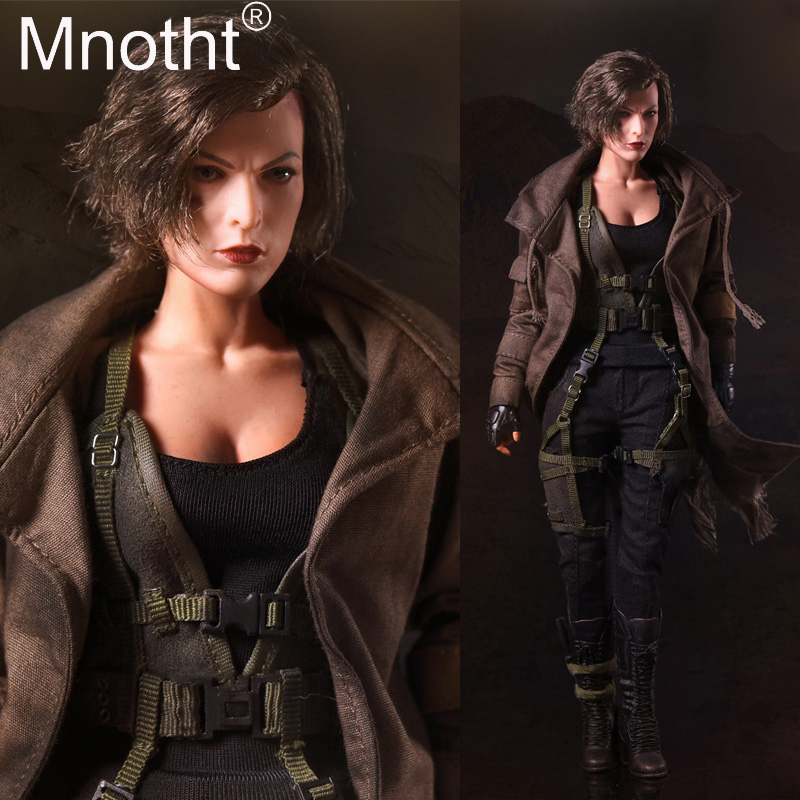 все цены на 1:6 Scale SW ourworld FS009 Resident Evil Zombie Hunter Alice 1/6 Figure&Head Sculpt Body Vest Coat Model Hobbies Collection toy онлайн