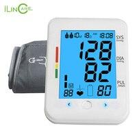 ilincare Home Blood Pressure Monitor Automatic Sphygmomanometer Micro USB Tonometer Health Care Upper Arm Blood Pressure Meter