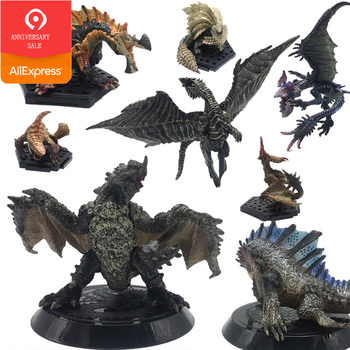 Japan Anime Monster Hunter World Game PVC Models Hot Dragon Action Figure Decoration Toy Model Collection Christmas Gift