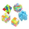 5 Unidades/pacote 2, 3 camadas, Megaminx cubo, espelho, Pyraminx cubo de Velocidade Stickerless Magic Cubes Puzzle Cube Profissional Por Atacado-45