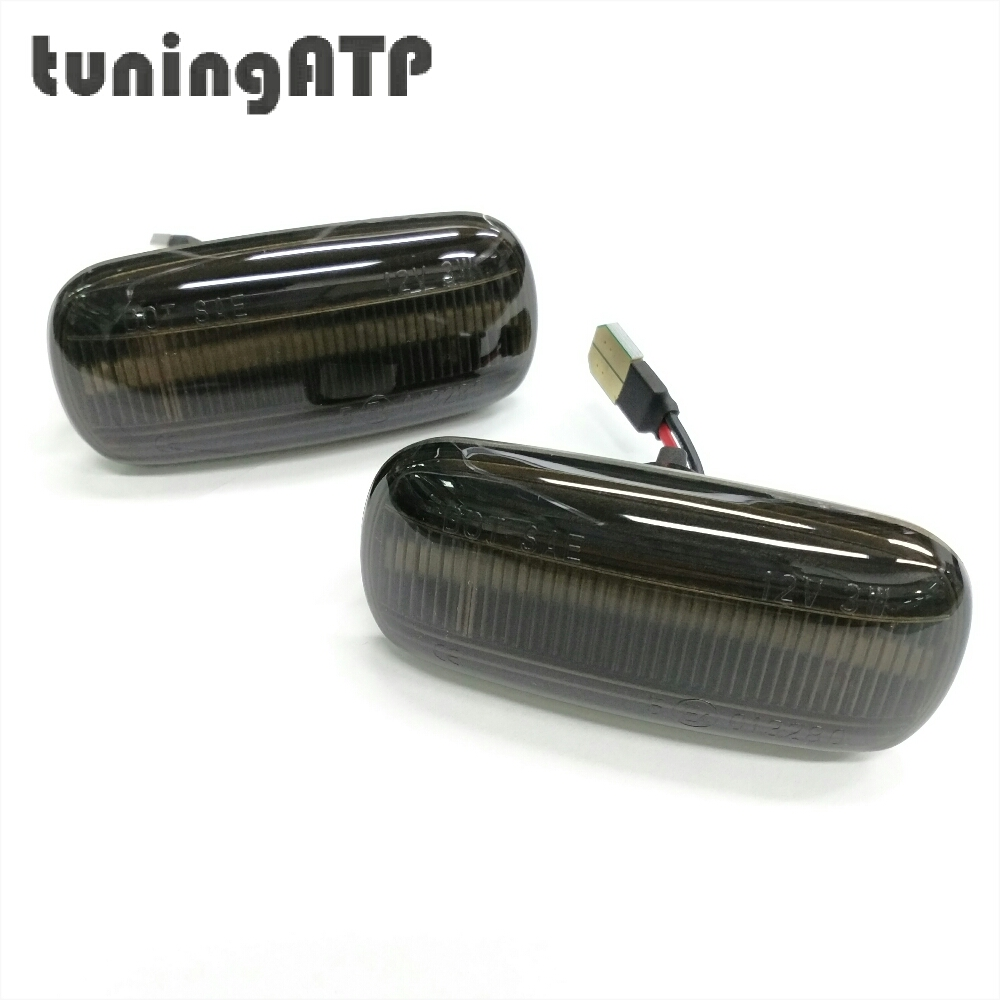 For Audi A4 B5 1999 Facelift Front Wing Fender LED Sequential Side Indicator Dynamic Turn Signal Sporty Styling Lamp