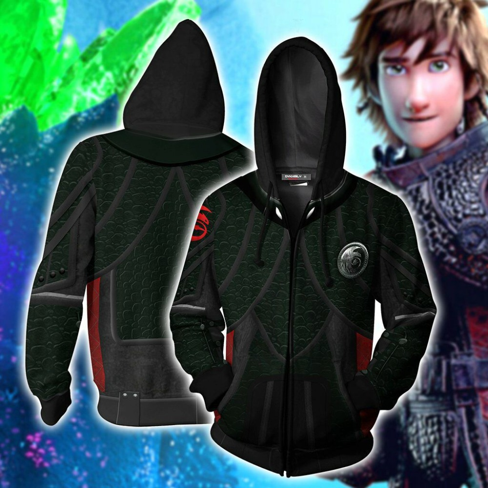 How to Train Your Dragon Toothless Cosplay How to Train Your Dragon Hoodies 3D Print Men and women Hoodies Sweatshirt