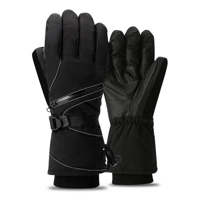 Мотоциклетные Перчатки мужские утепленные флисовые на подкладке Осень Зима теплые ветрозащитные защитные перчатки Guantes Moto Luvas