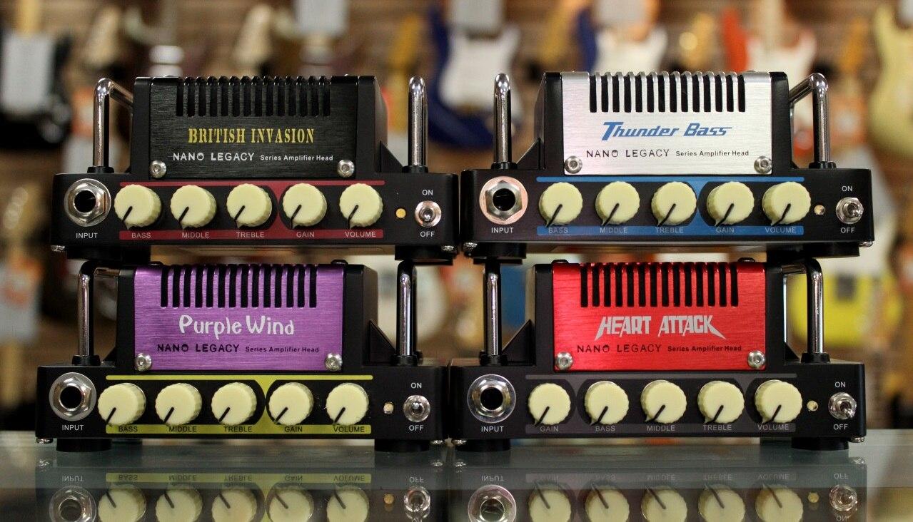 Hotone Audio Nano Legacy Micro Amp Mini Head Series - Heart Attack, - Muziekinstrumenten - Foto 3