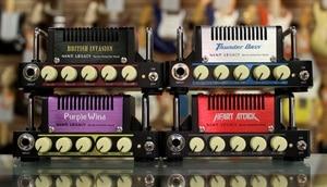 Image 3 - Hotone Audio Nano Legacy Micro Amp Mini Testa di Serie Attacco di Cuore, British Invasion, Viola Vento, mojo Diamante, Thunder Basso