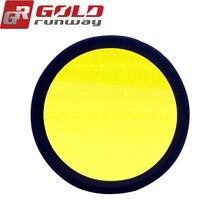 2 шт. желтые линзы дальнего света для GOLDRUNWAY GR EXP3 EXP4 30X
