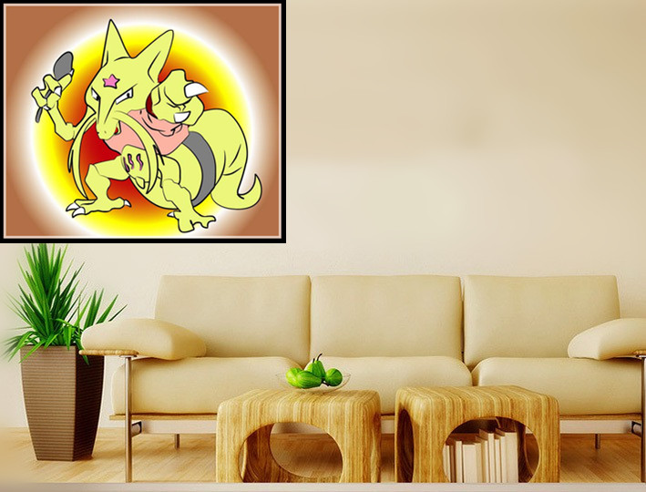 The pokemon of pokemon small pure and fresh and decoration Oil ...