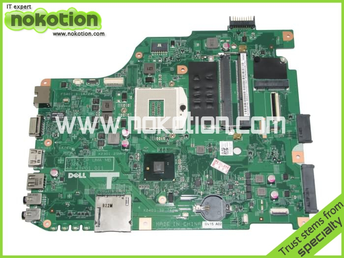 ФОТО Laptop motherboard for dell vostro 1540 0RMRWP 48.4IP01.011 intel hm55 gma hd ddr3 intel Mother Board High Quality