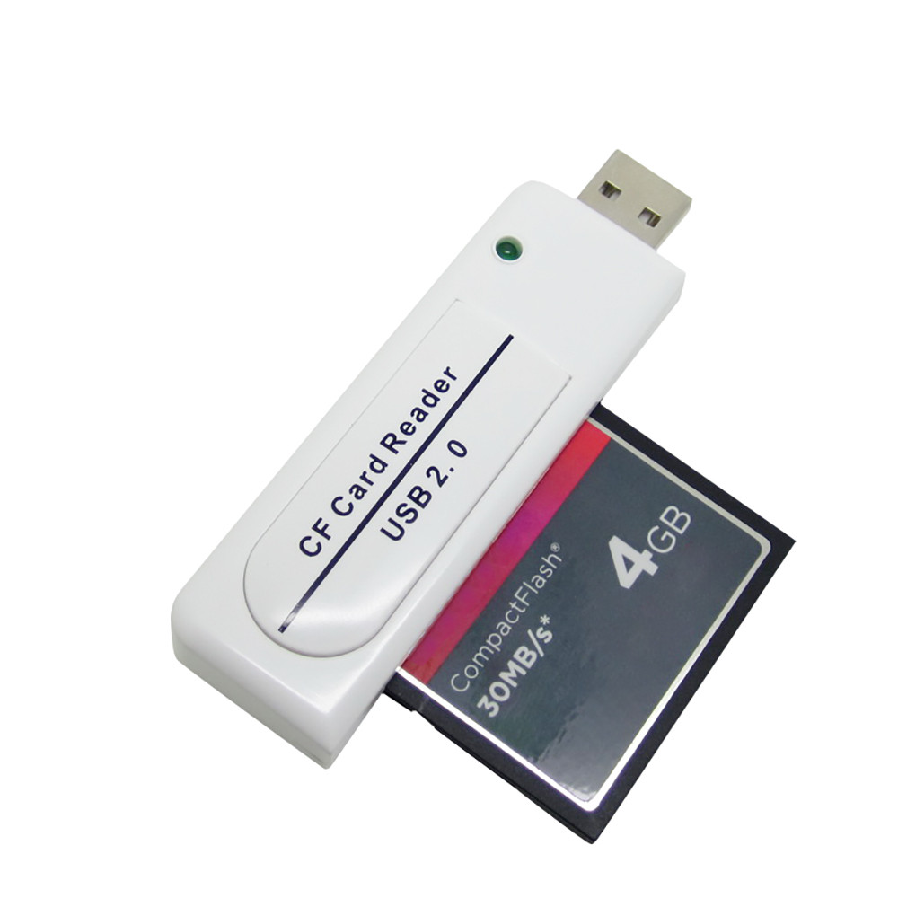 2 Ports Tf for Sdhc to Type I 1 Compact Flash Card Cf Reader Adapter Mandalaa Multicolor Plastic /& Metal 42X 35X 3Mm 2X64G Max