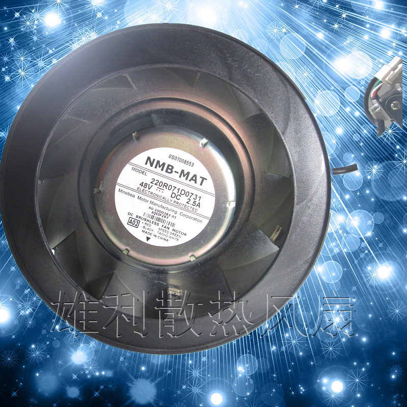 Free delivery.220R071D0731 48V 2.5A 60-1000383-01 AQS3P29F centrifugal fan