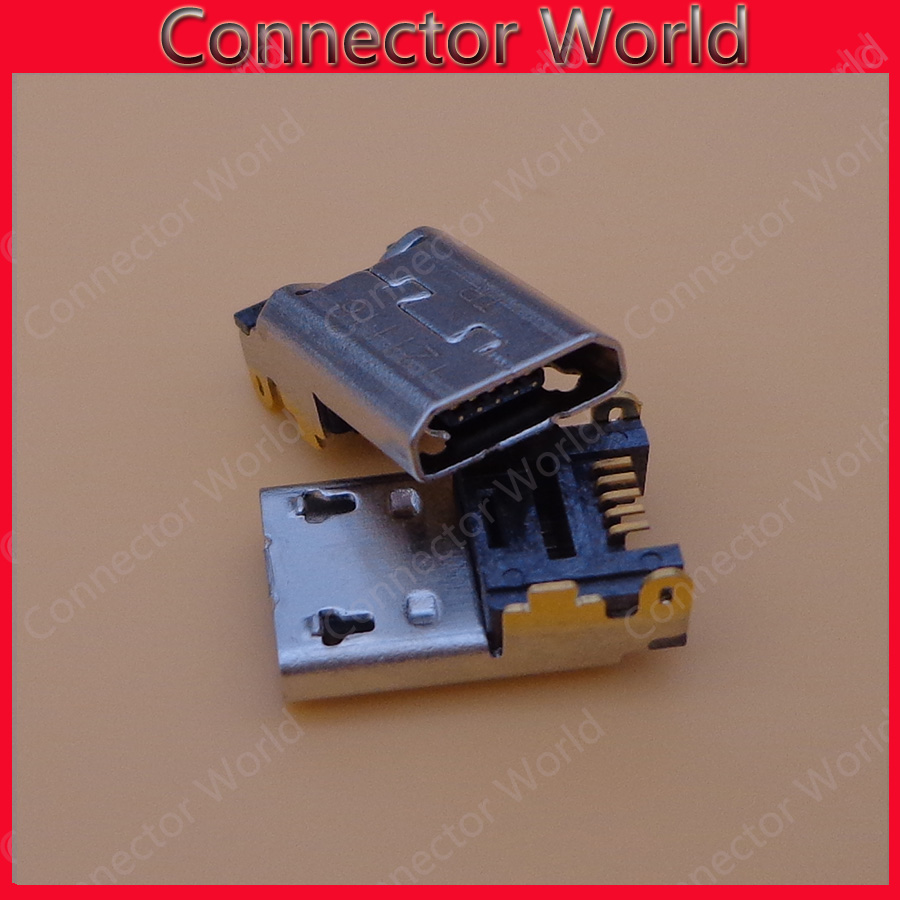 US $6 8 |Micro Mini charging port USB jack socket Connector repair parts  5pin For Amazon Kindle Fire HD 10 10 1 7 HD7 7 Dock Repair Part-in  Connectors